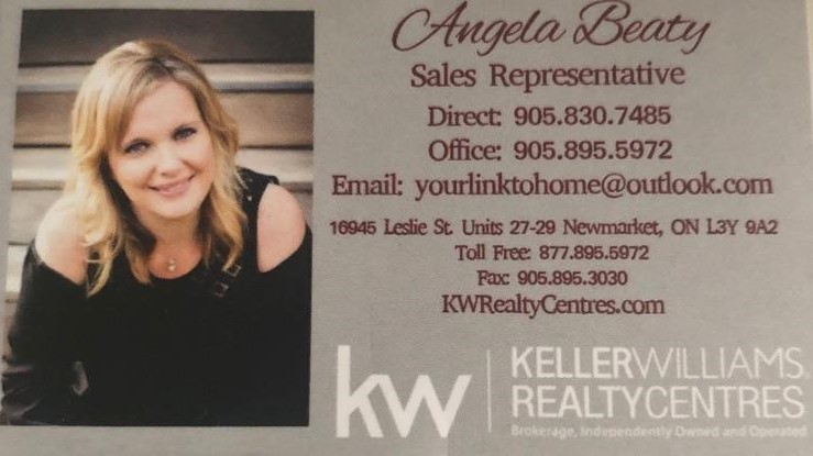 Angela Beatty  - Keller Williams Realty Centers